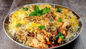 طريقة تحضير كبسة أرز باب الهند مع الدجاج