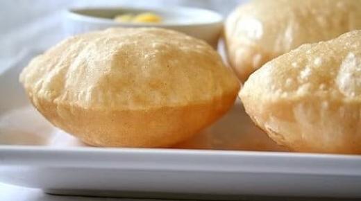 طريقة تحضير خبز البوري الهندي