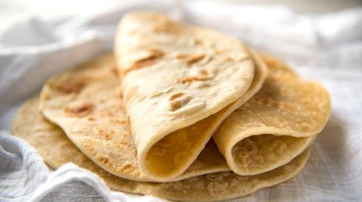 طريقة تحضير خبز التورتيلا