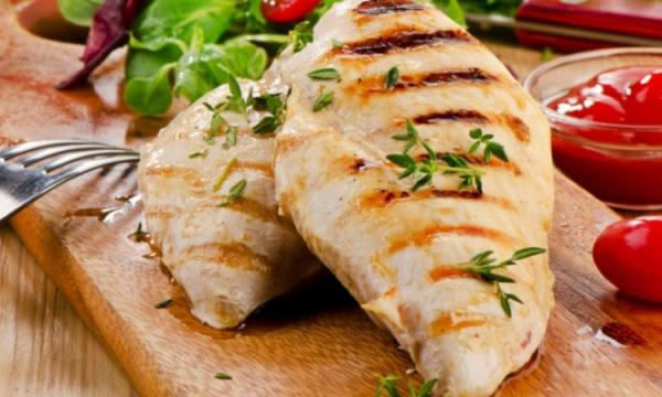 صدور الدجاج للرجيم على الطريقة التركية