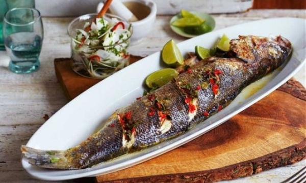 طريقة تحضير صينية السمك في الفرن