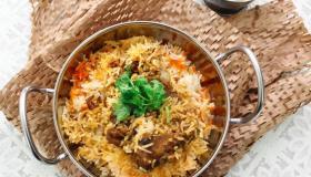 طريقة تحضير الأرز الكابلي باللحم