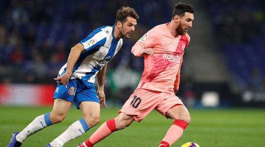 موعد مباراة برشلونة واسبانيول السبت 4-1-2020 والقنوات الناقلة   الدوري الإسباني