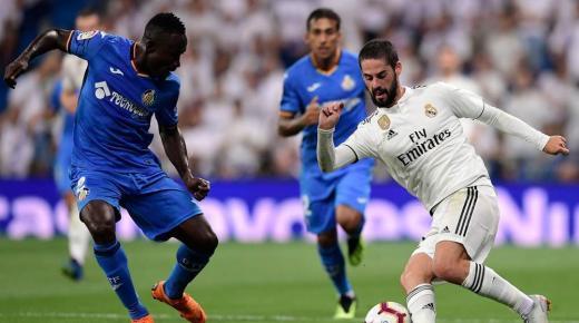 موعد مباراة ريال مدريد وخيتافي السبت 4-1-2020 والقنوات الناقلة | الدوري الإسباني