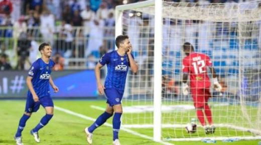 أهداف و ملخص مباراة الهلال والوحدة اليوم السبت 11-1-2020 | الدوري السعودي