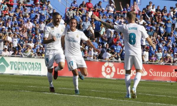 أهداف و ملخص مباراة ريال مدريد وخيتافي اليوم السبت 4-1-2020 | الدوري الإسباني