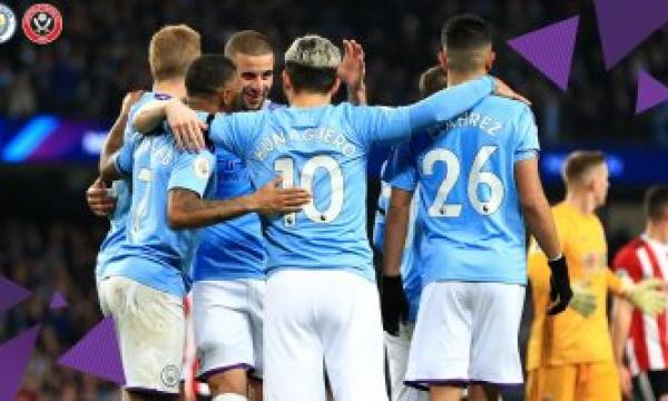 أهداف و ملخص مباراة مانشستر سيتي وشيفيلد يونايتد اليوم الثلاثاء 21-1-2020   الدوري الإنجليزي