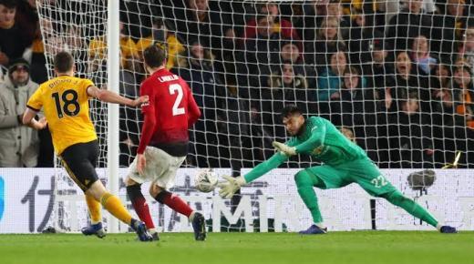 ملخص مباراة مانشستر يونايتد وولفرهامبتون اليوم السبت 4-1-2020 | كأس الاتحاد الإنجليزي