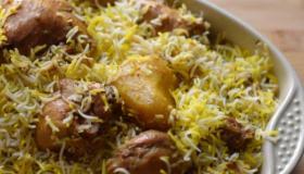 طريقة تحضير زربيان الدجاج اليمني