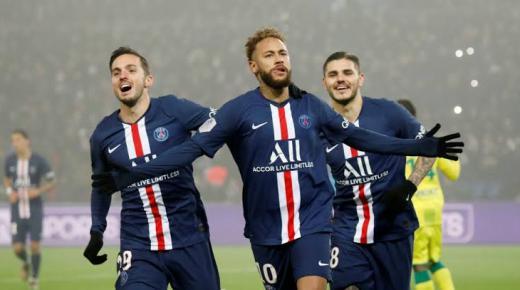 موعد مباراة باريس سان جيرمان ونانت الثلاثاء 4-2-2020 والقنوات الناقلة | الدوري الفرنسي