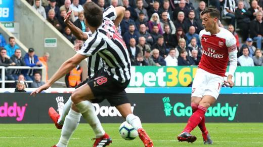 أهداف و ملخص مباراة ارسنال ونيوكاسل اليوم الأحد 16-2-2020 | الدوري الإنجليزي