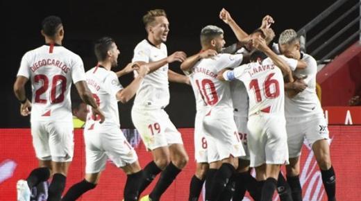 أهداف و ملخص مباراة اشبيلية وكلوج اليوم الخميس 20-2-2020 | الدوري الأوروبي