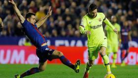 أهداف و ملخص مباراة برشلونة وليفانتي اليوم الأحد 2-2-2020 | الدوري الإسباني