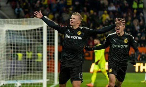 أهداف و ملخص مباراة بوروسيا دورتموند وآينتراخت فرانكفورت اليوم الجمعة 14-2-2020 | الدوري الألماني