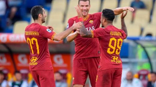 أهداف و ملخص مباراة روما وكالياري اليوم الأحد 1-3-2020 | الدوري الإيطالي