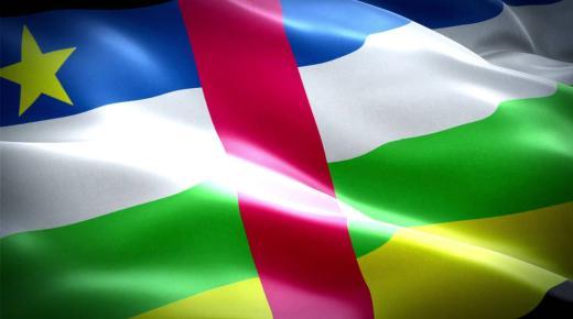 ما معنى ألوان علم جمهورية أفريقيا الوسطى؟