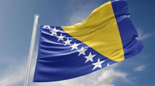 ما معنى ألوان علم البوسنة والهرسك؟