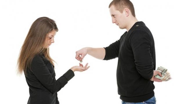 طرق التعامل مع الزوج البخيل