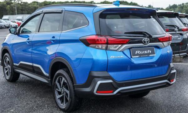 أسعار سيارة تويوتا راش Toyota Rush 2019 1.5L EX فى مصر بالتقسيط