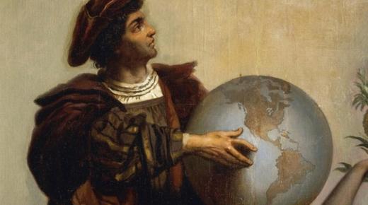 كريستوفر كولومبس وإعادة اكتشاف القارة الأمريكية