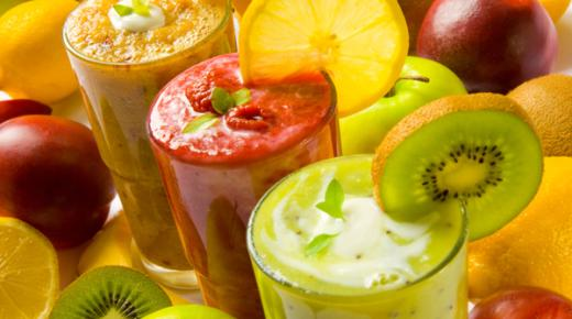 عمل مشروبات صحية في رمضان