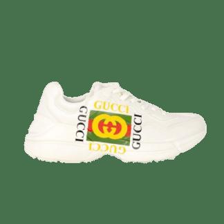 Gucci Rhyton Square Print Sneakers