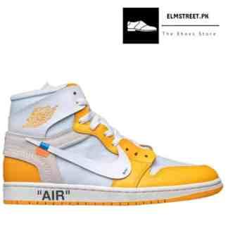 Off-White x Air Jordan 1 High Canary Yellow