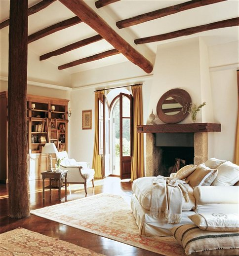 Restored 17th Century Farmhouse In Spain Inspiring Interiors