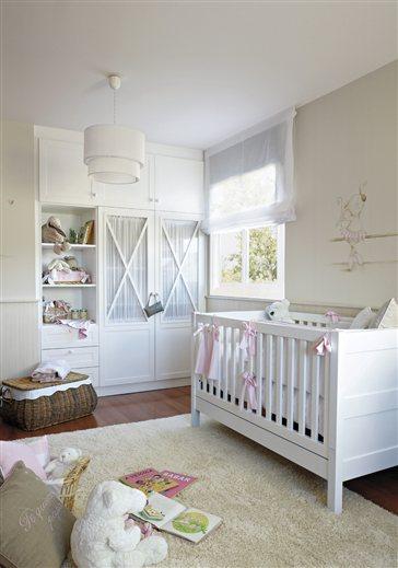Habitaciones para peque as princesas muebles nina for Coquetas muebles dormitorio