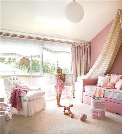 Habitaciones para peque as princesas muebles nina - Habitaciones pequenas para ninas ...