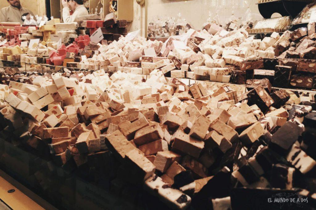mercados de navidad en alemania. turrones