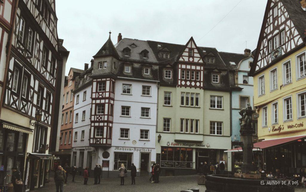 Colores en el Marktplatz. Cochem