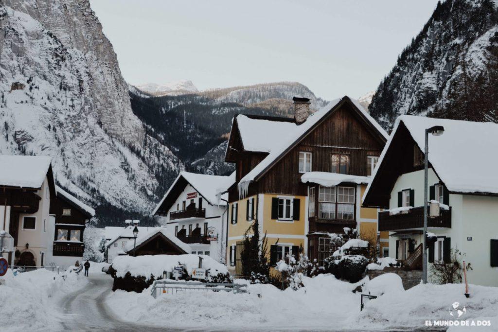 El pueblo. Hallstatt en invierno
