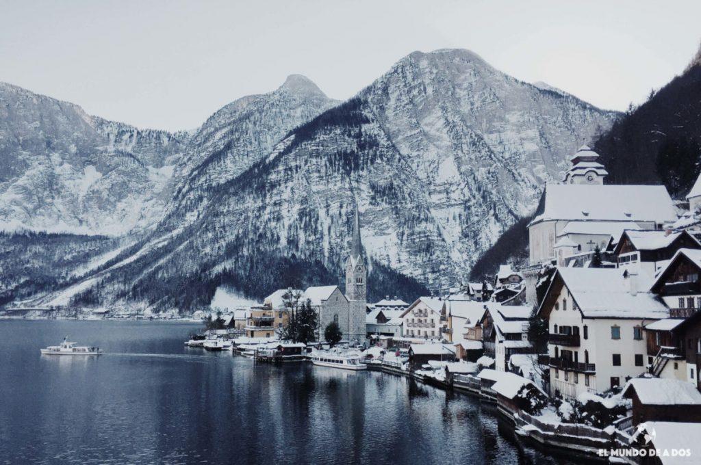 Visitamos Hallstatt en Invierno. El secreto más conocido de Austria.