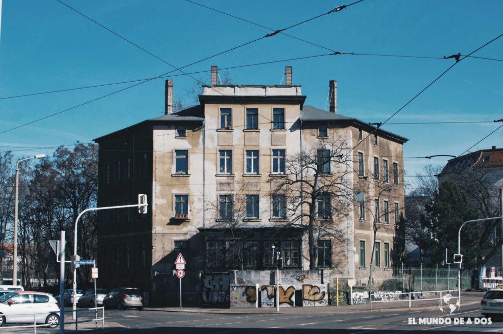 Casa vieja Leipzig. Que ver en Leipzig