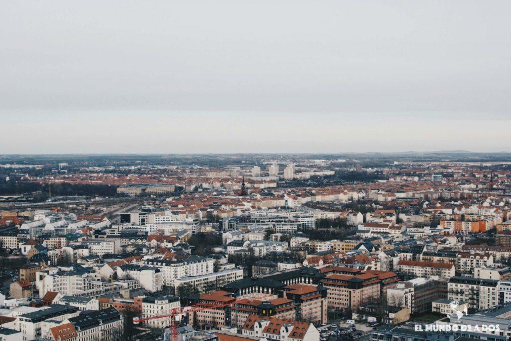 Vista de Leipzig. Que ver en Leipzig