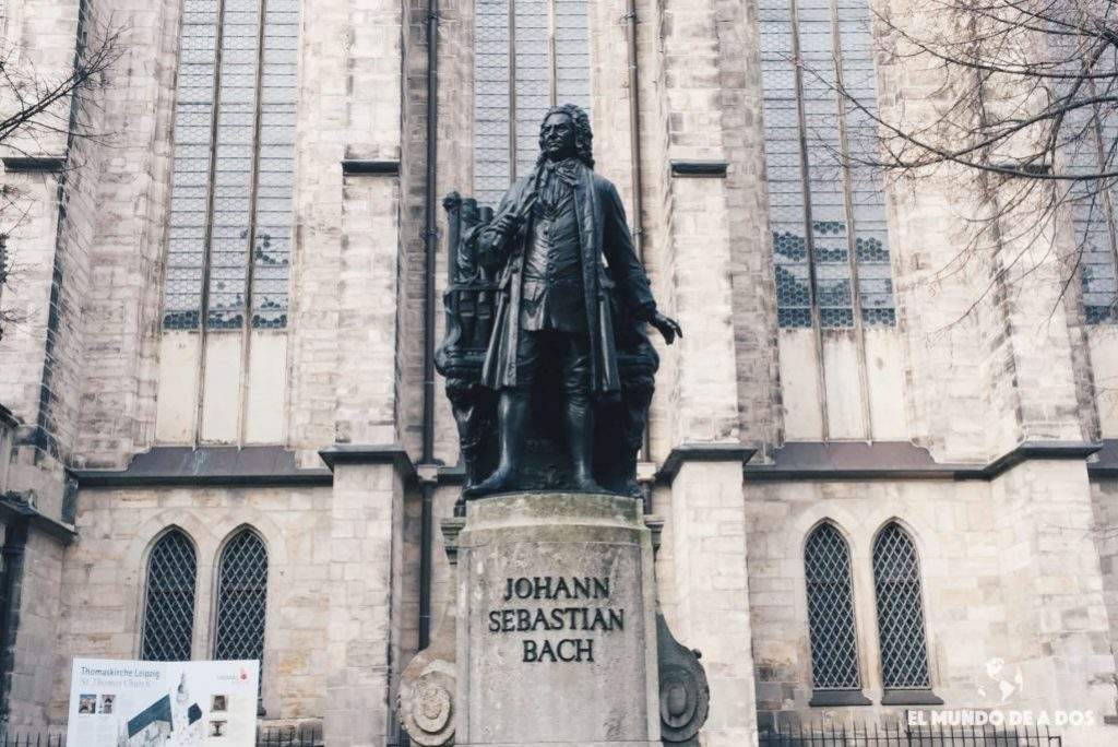 Estatua de Bach, Leipzig. Que ver en Leipzig