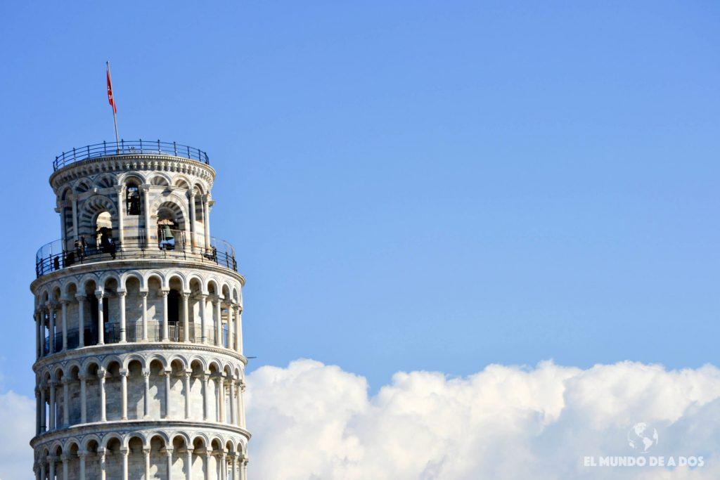 La Plaza de los Milagros en Pisa, Italia