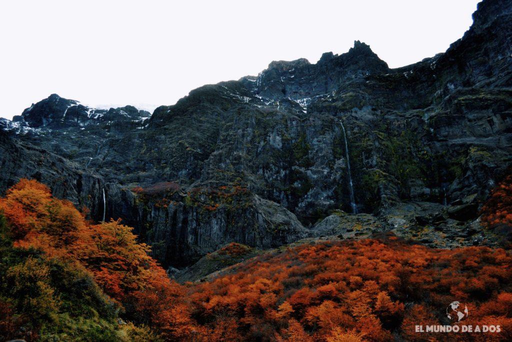 Garganta del Diablo. Excursion Cerro Tronador