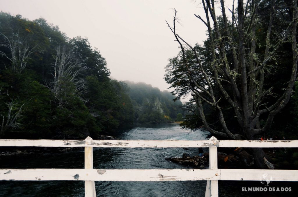 Río Manso en el Camping Los Rápidos. Excursion Cerro Tronador