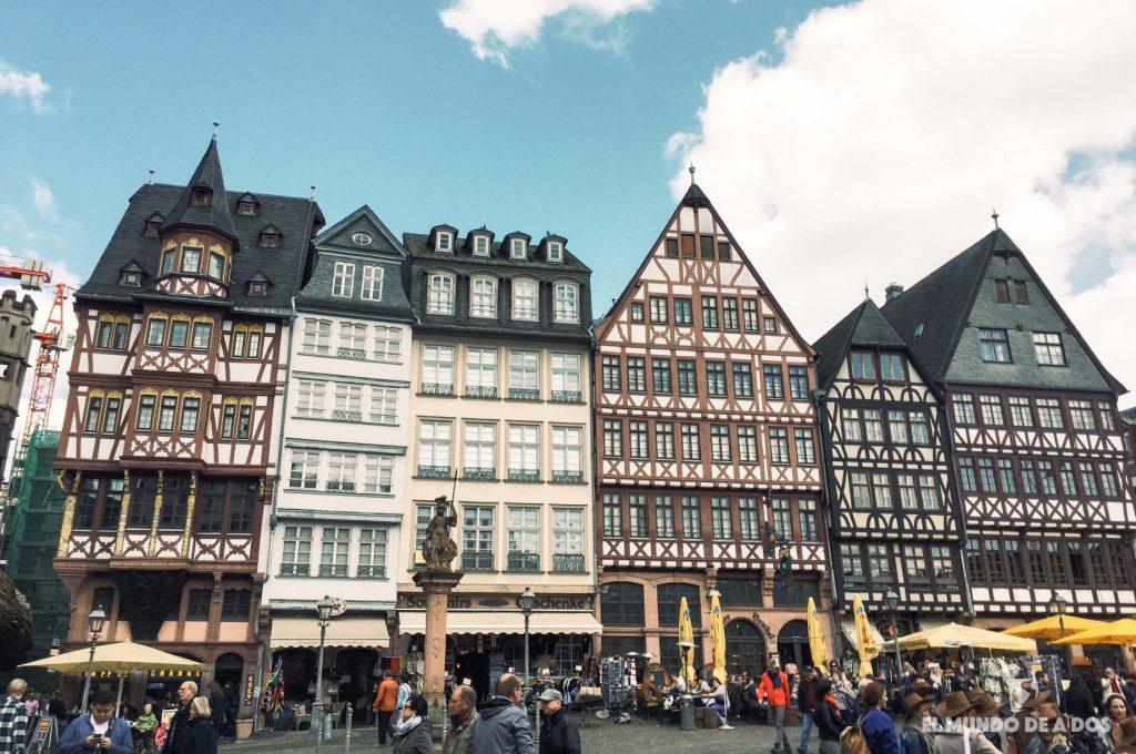 Plaza antigua de Frankfurt. Curiosidades de Frankfurt