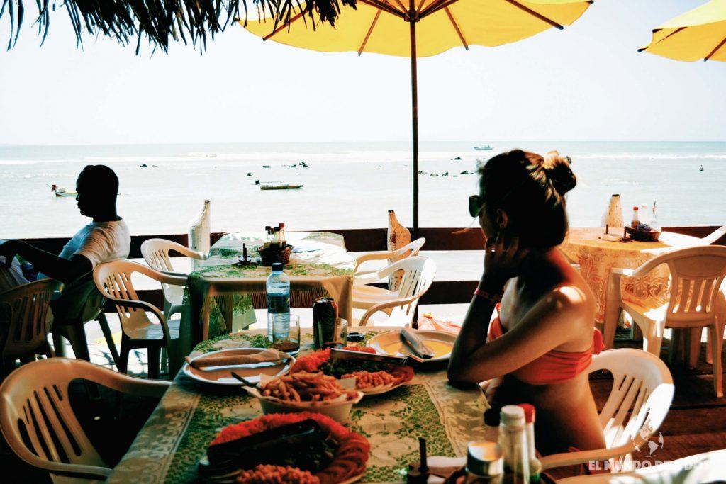 Almuerzo en Pipa. Playas de Pipa