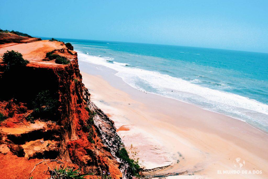 Mirador Playa Cacinbinhas 2. Playas de Pipa