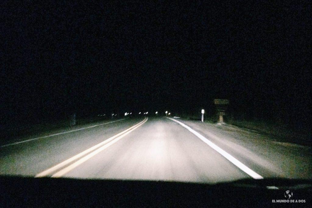 El viaje de noche hasta el Gran Cañón. Gran Cañón en un día