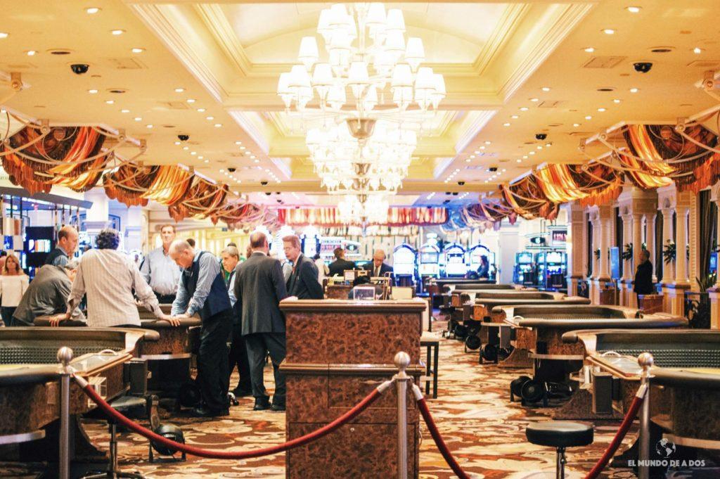 En los casinos. Las Vegas en un día