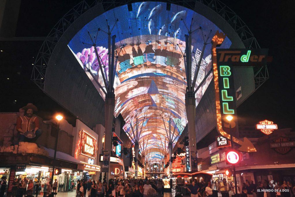 Fremont. Las Vegas en un día