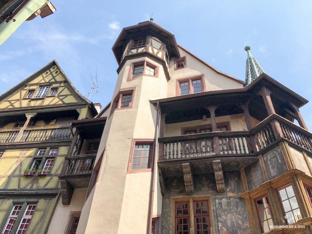 Casa Pfister. Que ver en Colmar Francia