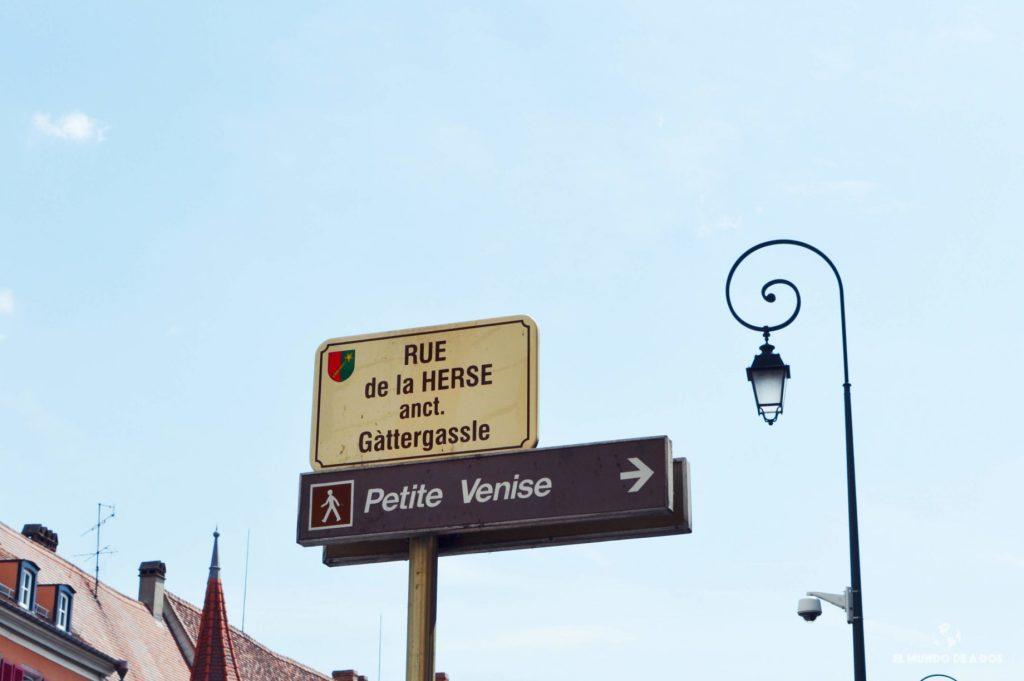 Hacia la Petite Venise. Que ver en Colmar Francia