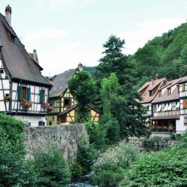 Kaysersberg (Francia), una de las visitas obligadas de Alsacia.