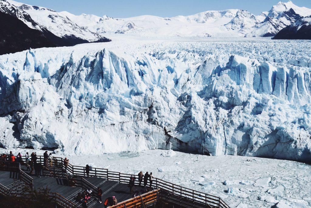 Las pasarelas y el glaciar. Minitrekking Perito Moreno